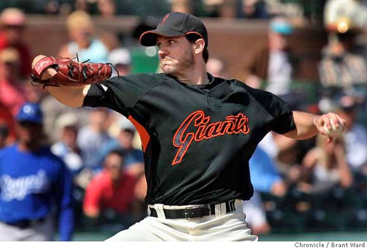 ###Live Caption:Barry Zito made his second start of the spring and had much more success in three innings Wednesday. On March 5, 2008 the San Francisco Giants lost to the Kansas City Royals in a spring training exhibition game 3-1. Photo by Brant Ward / San Francisco Chronicle###Caption History:Barry Zito made his second start of the spring and had much more success in three innings Wednesday. On March 5, 2008 the San Francisco Giants lost to the Kansas City Royals in a spring training exhibition game 3-1. Photo by Brant Ward / San Francisco Chronicle###Notes:###Special Instructions: