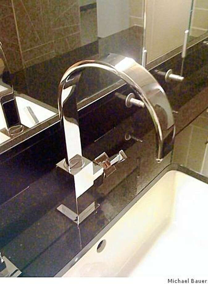 """Lacava """"Kubista"""" faucet Photo: Michael Bauer"""