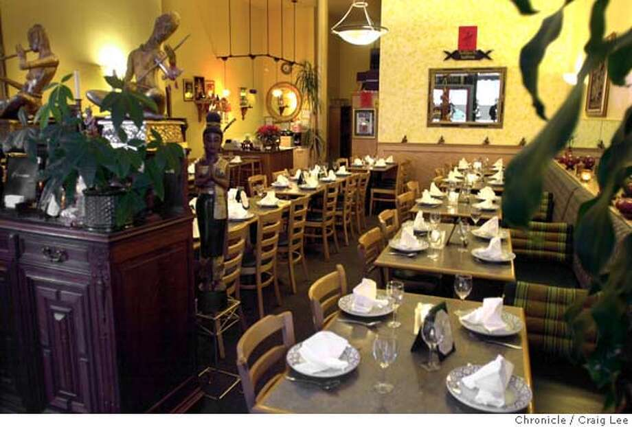 LEMONGRASS05B-C-30JAN03-FD-CL  Lemongrass Thai restaurant for a review. Photo by Craig Lee/San Francisco Chronicle Photo: CRAIG LEE