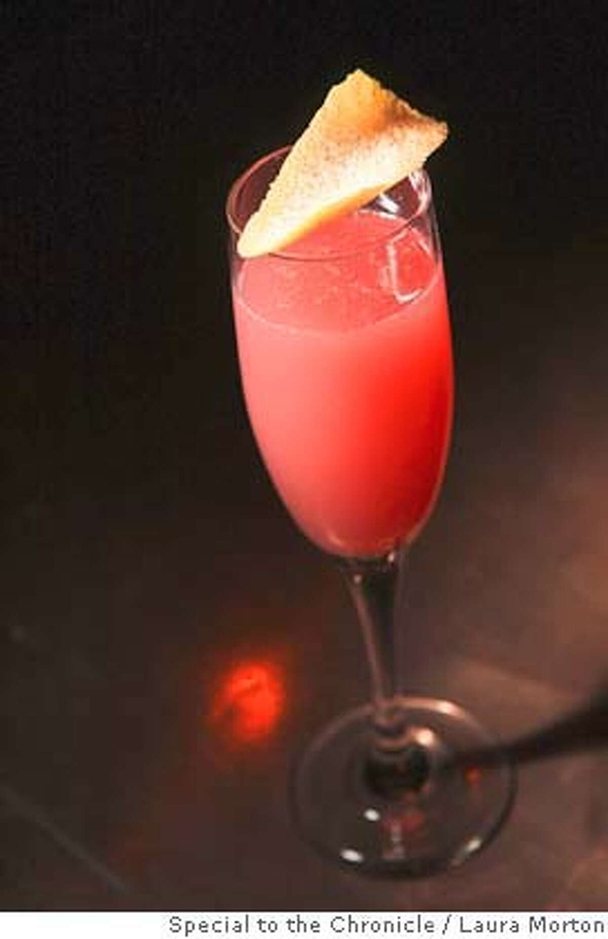 The Grapefruit Royale, a cocktail at Brick, a cozy restaurant and bar in San Francisco. (Laura Morton/Special to the Chronicle)