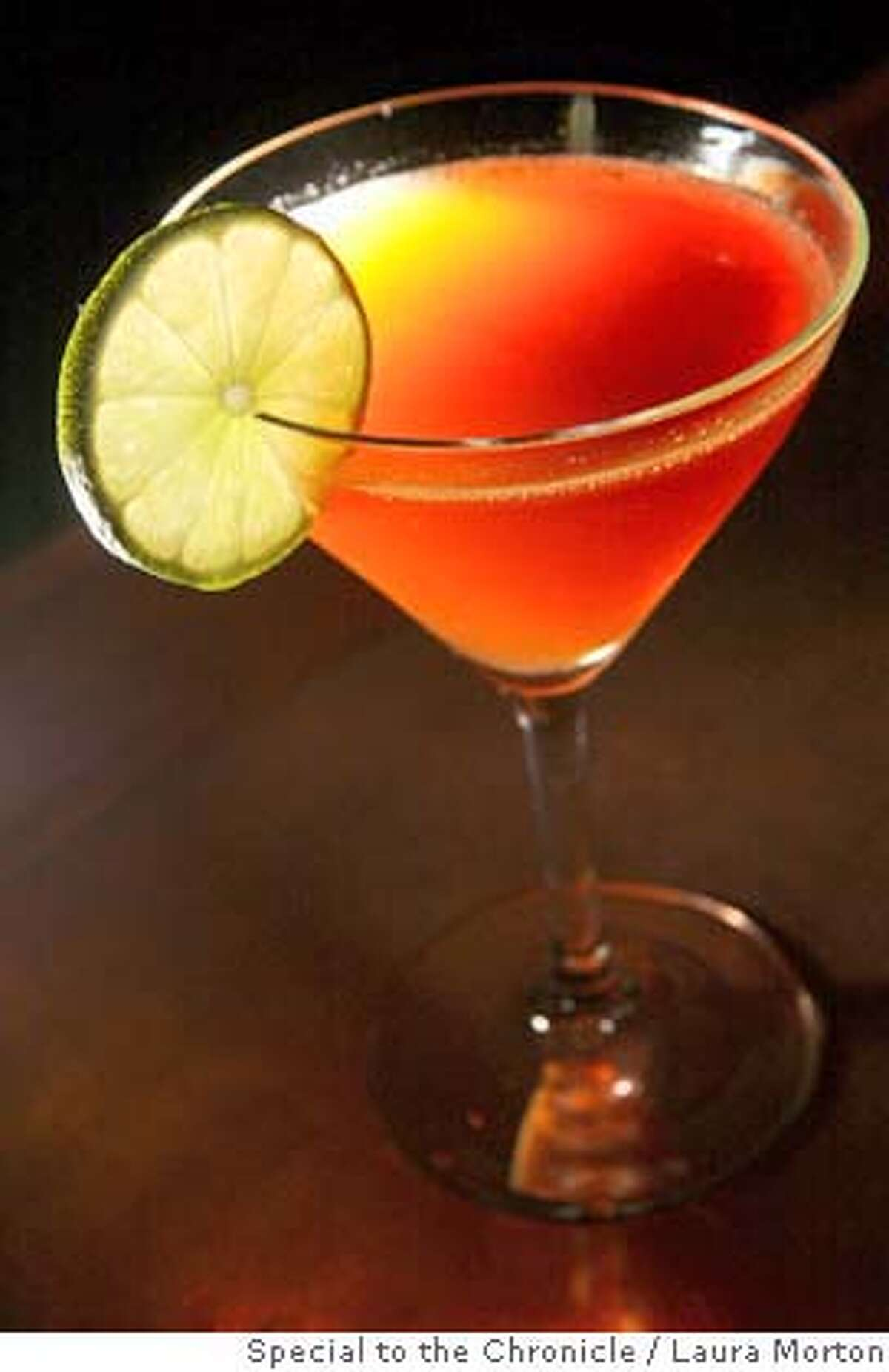 The Black Daiquiri at Brick, a cozy restaurant and bar in San Francisco. (Laura Morton/Special to the Chronicle)