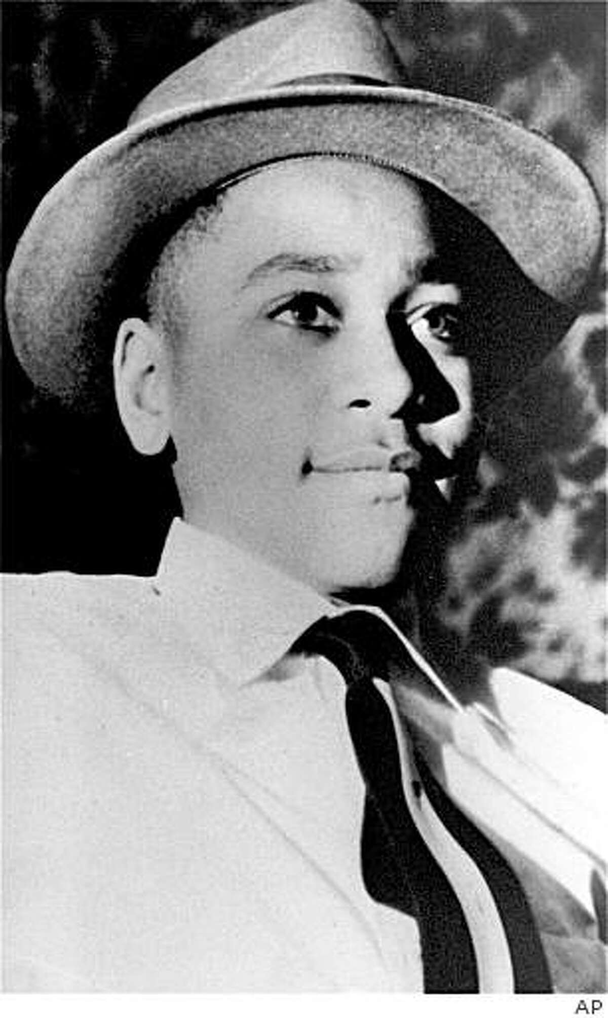 FILE - This undated file photo shows Emmett Louis Till, a 14-year-old from Chicago whose weighted body was found in the Tallahatchie River near the Delta community of Money, Miss., on Aug. 31, 1955. Four cemetery workers have been charged Thursday, July 9, 2009 with dismembering bodies after police found what they called