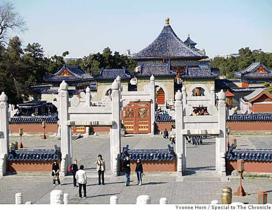 Temple of Heaven, Beijing. Photo: Yvonne Horn, Special To The Chronicle