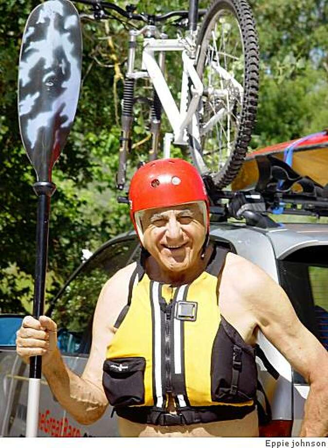 Eppie the kayaker Photo: Eppie Johnson