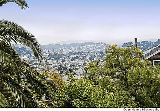 The home is located in what is now part of the Dolores Heights Special Use District, a designation established in 1980 to preserve the unique character defined by the historic architecture and dramatic topography of the area. Photo: Open Homes Photography