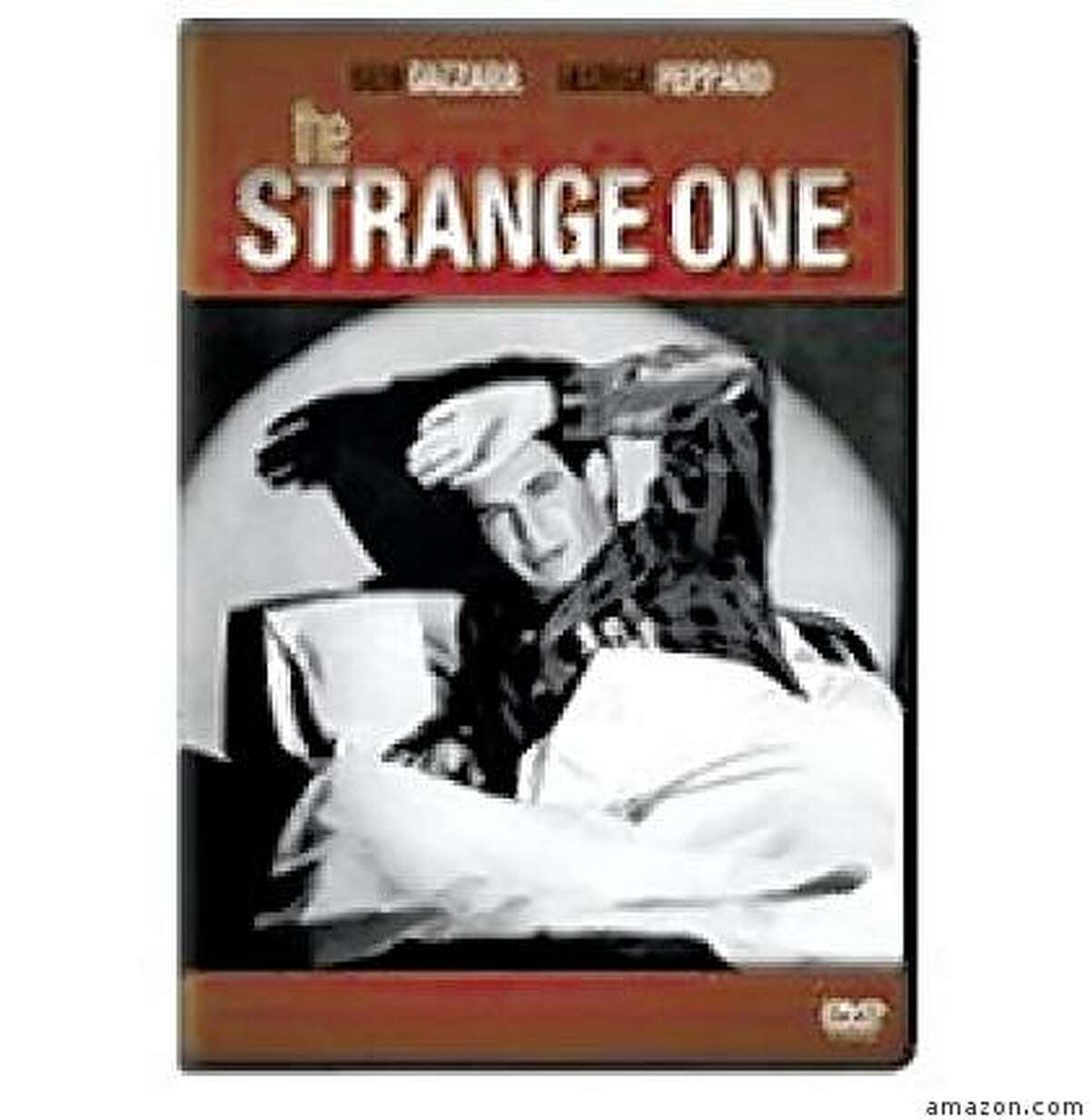dvd cover THE STRANGE ONE
