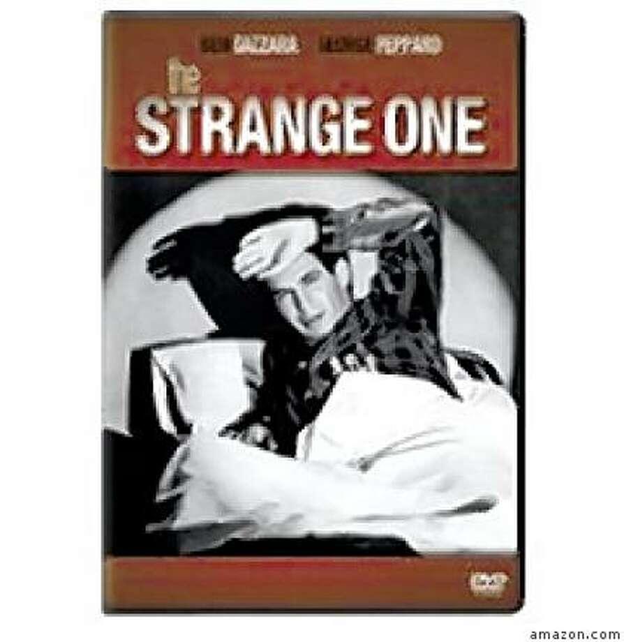 dvd cover THE STRANGE ONE Photo: Amazon.com