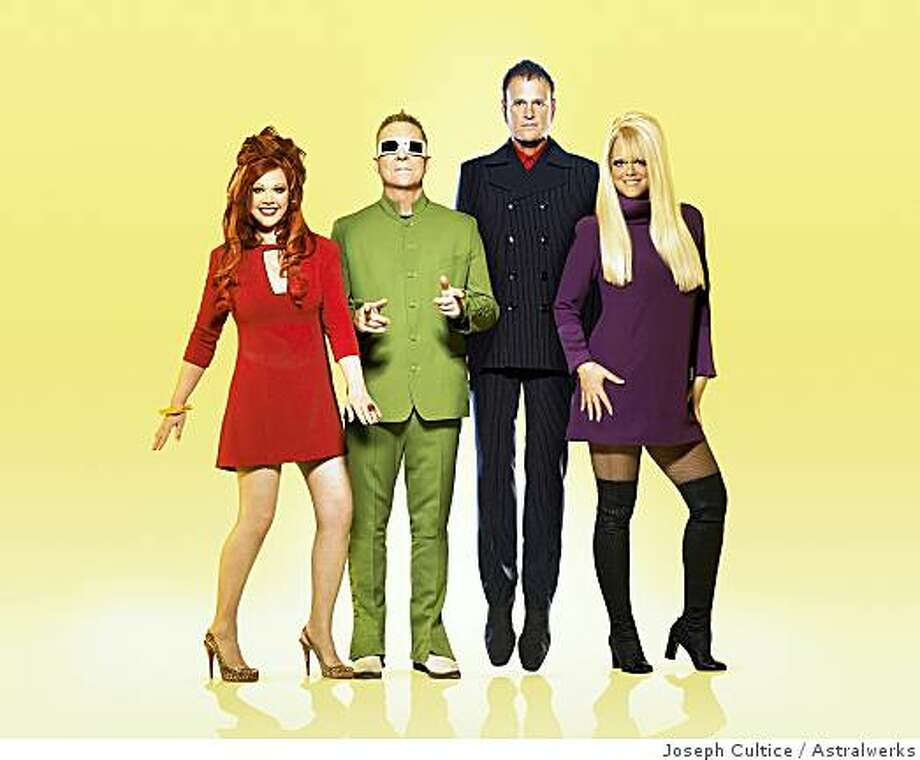 """The B-52's play two Bay Area shows this week in support of their latest album, """"Funplex."""" Photo: Joseph Cultice, Astralwerks"""