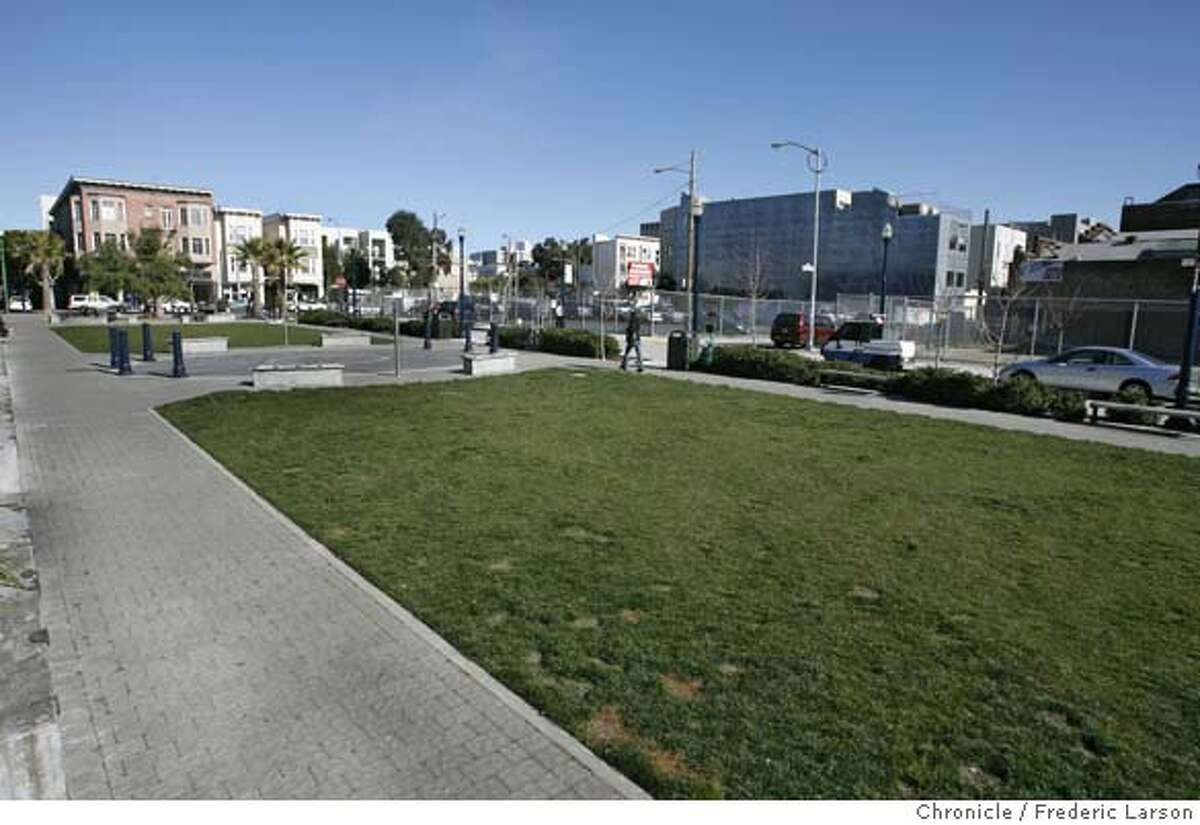 Octavia Boulevard, and how the land along it sits empty even though developers and architects were selected for several sites more than a year ago. The problem is City Hall politics; the sites aren't involved, but they're held hostage all the same.
