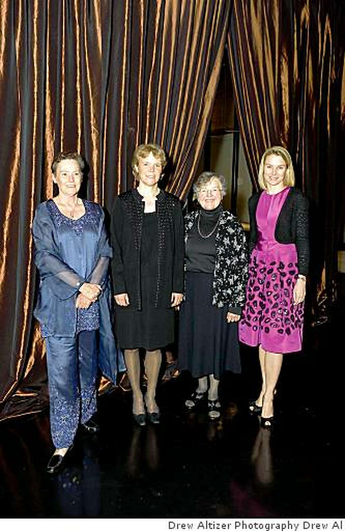 The honorees at the Exploratorium
