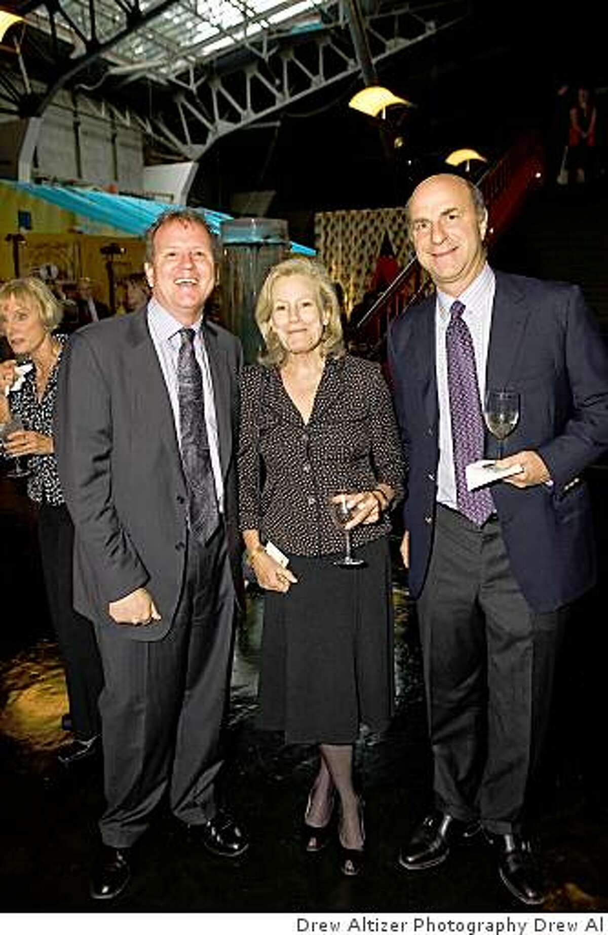 The Exploratorium's Women in Science Awards Dinner was May 18 in San Francisco.Dennis Bartels, K.C. Cole, Bill Fisher