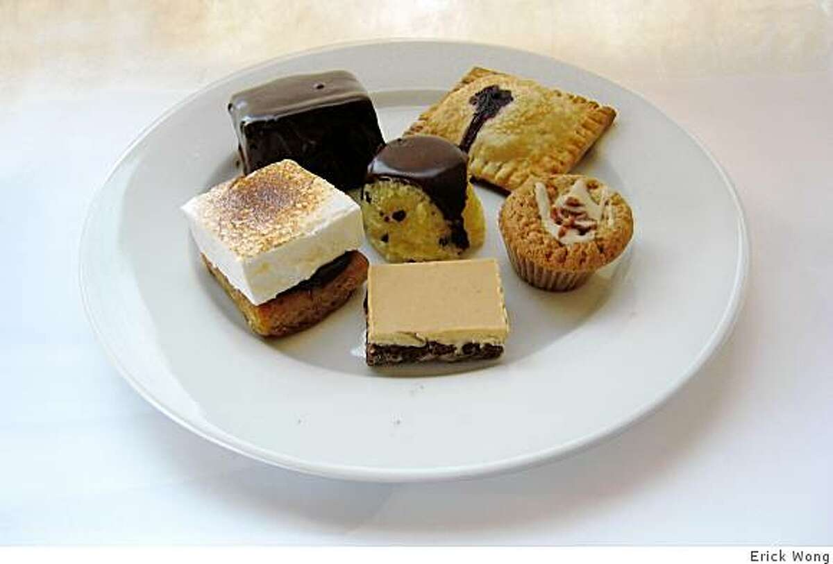 A selection of pastries and baked goods from Mi2Sweets.