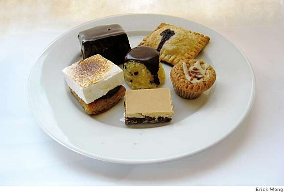 A selection of pastries and baked goods from Mi2Sweets. Photo: Erick Wong