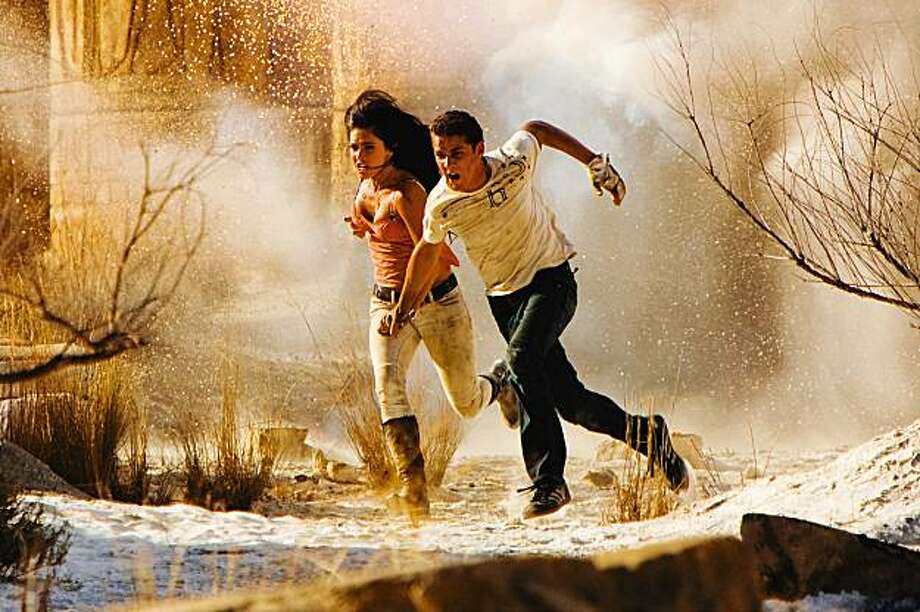 "Megan Fox and Shia LaBeouf in   ""Transformers: Revenge of the Fallen."" Photo: Jaimie Trueblood, Paramount"