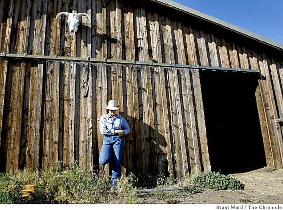 Rhonda McGarva has come home to Likely, CA. to help out on the ranch. Modoc County in the far northeastern corner of California is an interesting mix of Republican ranchers and progressive newcomers who seem to share a distrust of government and have an independent spirit. Photo: Brant Ward, The Chronicle