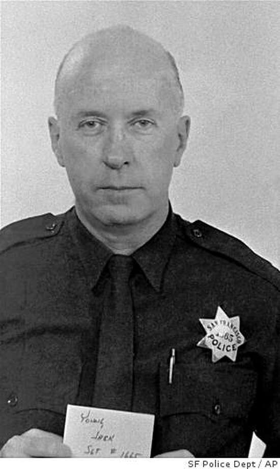 Sgt. John Young was killed in 1971 during an attack on the Ingleside Police Station in San Francisco. Those charged with his murder go on trial June 8. Photo: SF Police Dept, AP