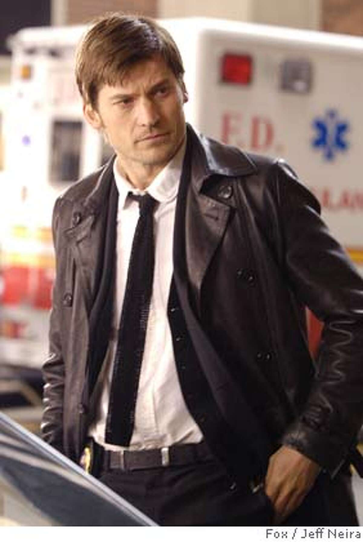 NEW AMSTERDAM: New York Police Detective John Amsterdam (Nikolaj Coster-Waldau) is a man who has been granted eternal life until he meets his soulmate in the new drama NEW AMSTERDAM previewing Tuesday, March 4 (9:00-10:00 PM ET/PT) on FOX. CR: Jeff Neira/FOX