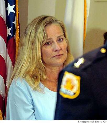 Kim swartz mother of amber swartz listens as pinole chief of police