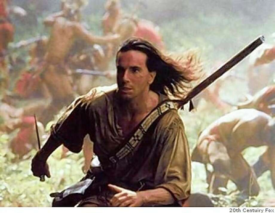 """Daniel Day-Lewis in """"The Last of the Mohicans"""" Photo: 20th Centuiry Fox"""