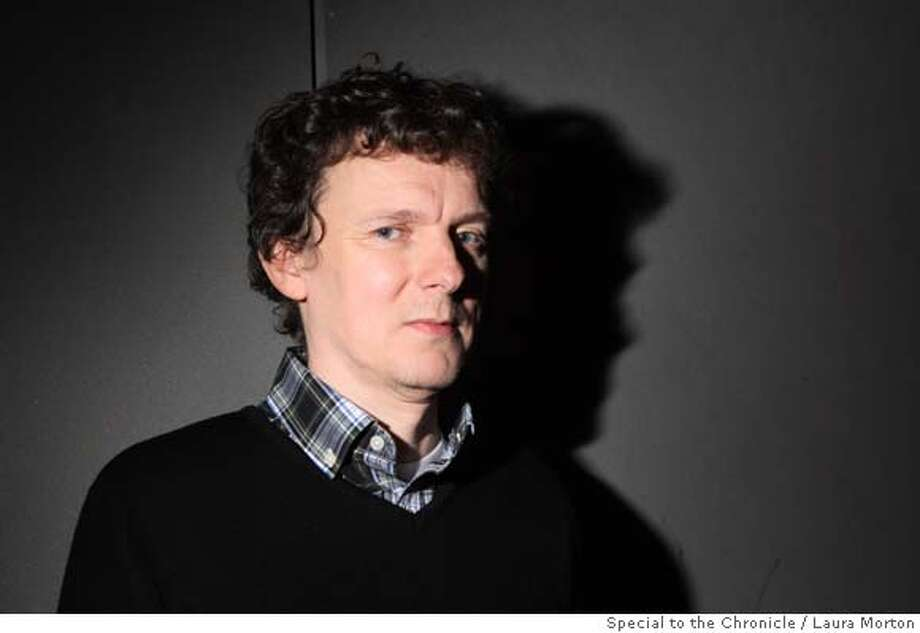"Writer and director Michel Gondry, who is known for films such as ""Eternal Sunshine of the Spotless Mind"" and ""The Science of Sleep"" has a new film coming out, entitled ""Be Kind Rewind."" (Laura Morton/Special to the Chronicle) Ran on: 02-17-2008 Ran on: 02-17-2008  Michel Gondry is the director of the new Jack Black comedy &quo;Be Kind Rewind.&quo; Photo: Laura Morton"