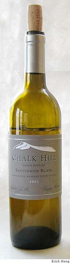 2007 Chalk Hill Estate Chalk Hill Sauvignon Blanc Photo: Erick Wong