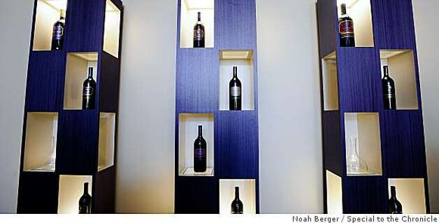 Wine bottles are displayed at Murphy-Goode's tasting room on Sunday, May 4, 2008, in Healdsburg, Calif. Photo by Noah Berger / Special to the Chronicle Photo: Noah Berger, Special To The Chronicle