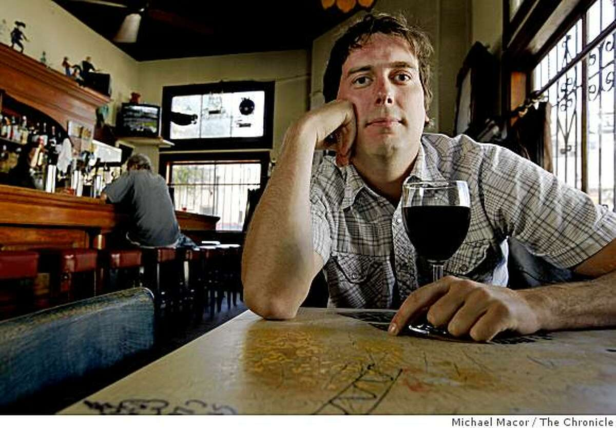 Martin Sargent, at the Uptown Bar in the Mission on Wednesday July 2, 2009, in San Francisco, Calif. Sargent entered the contest,