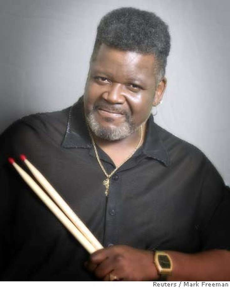 The late power drummer Buddy Miles is shown in this undated publicity photograph. Miles, who played with Jimi Hendrix in his short-lived group Band of Gypsys, died at his home in Austin, Texas on Wednesday, according to publicist Duane Lee on February 27, 2008. He was 60. Miles, a former teen prodigy, helped develop such musical forms as funk metal and acid jazz thanks to his work with such guitarists as John McLaughlin, Mike Bloomfield and Carlos Santana. In 1967, he and Bloomfield co-founded Electric Flag, whose rock-brass sound influenced Chicago and Blood, Sweat & Tears. REUTERS/Mark Freeman/Handout (UNITED STATES). NO SALES. NO ARCHIVES. FOR EDITORIAL USE ONLY. NOT FOR SALE FOR MARKETING OR ADVERTISING CAMPAIGNS.. SALESOUT NARCH EUO Photo: HO