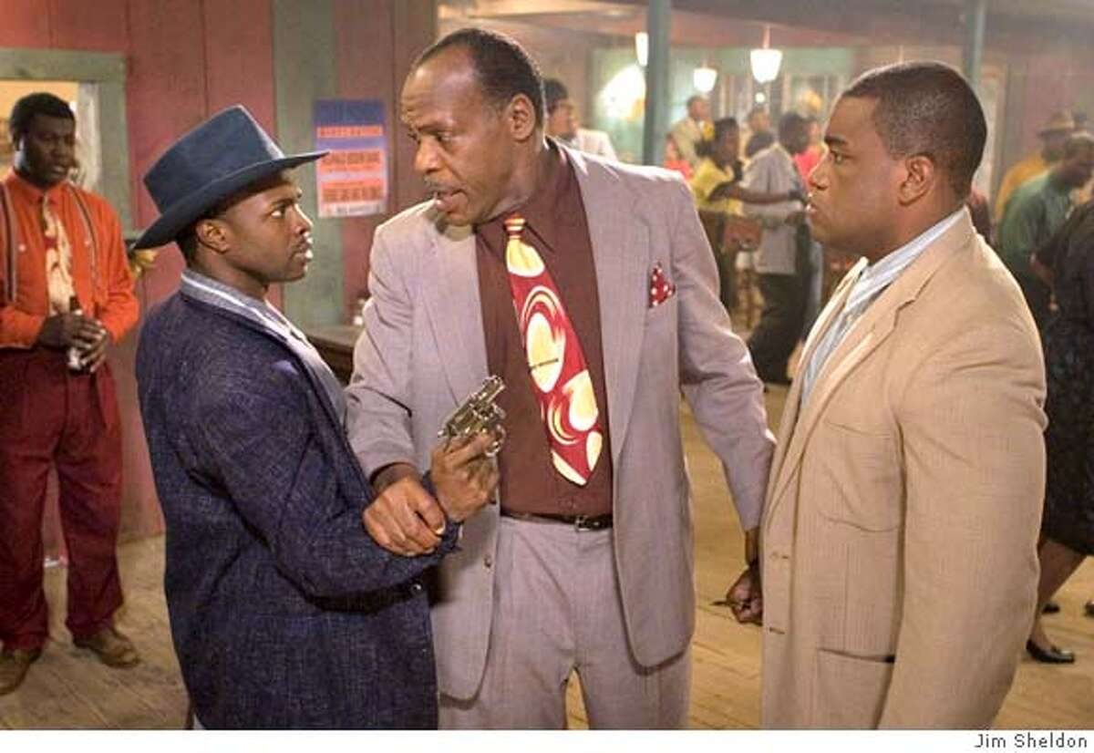 Busting Up a Fight: Sean Patrick Thomas, Danny Glover and Eric L. Abrams in John Sayles'