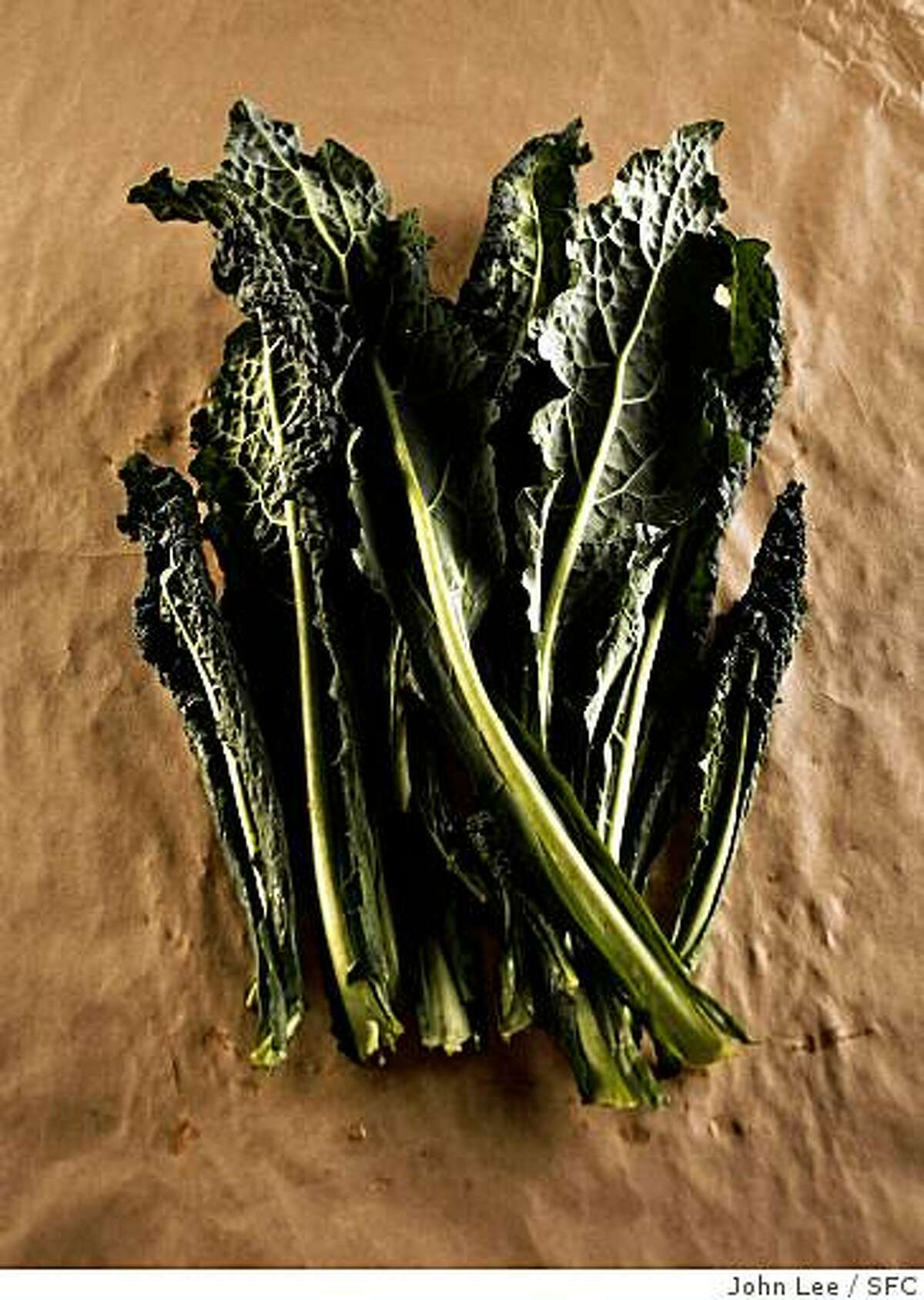 Kale didn't used to be as widely available as it is now.By JOHN LEE/SPECIAL TO THE CHRONICLE