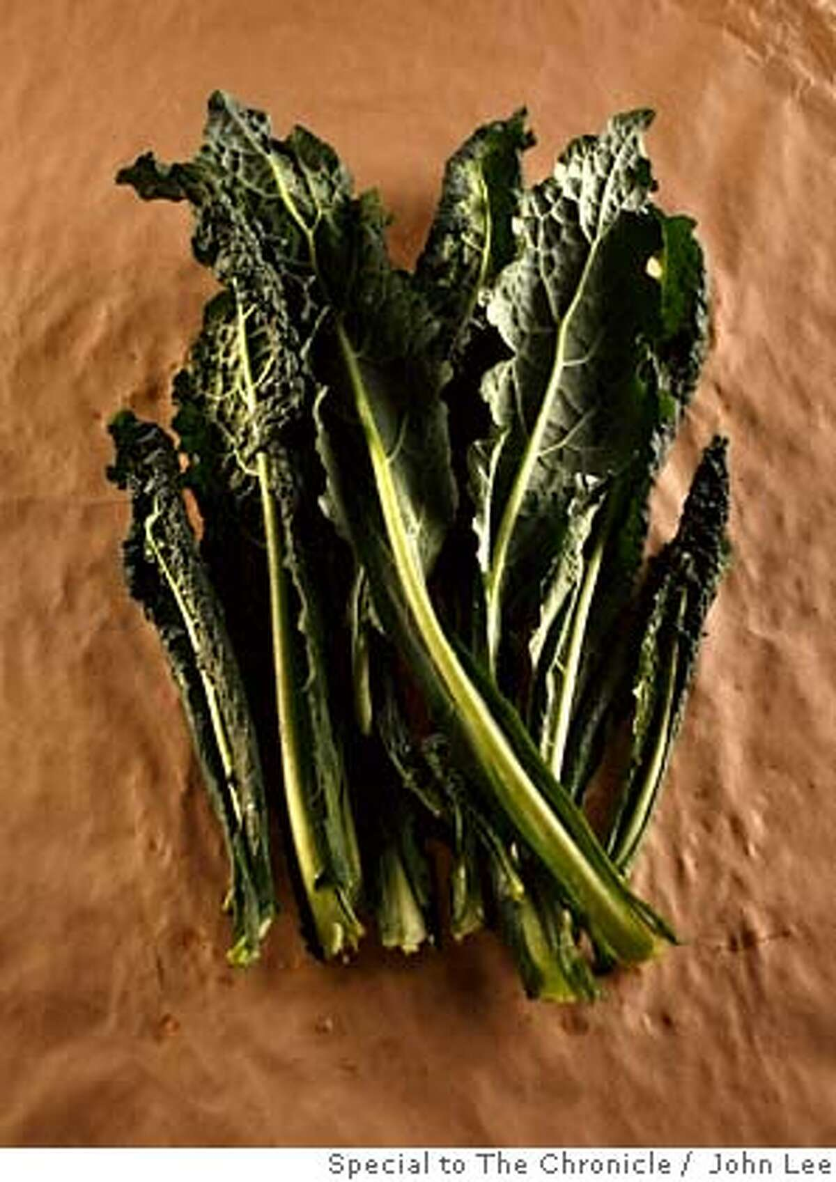 SEASONAL06_KALE_01_JOHNLEE.JPG Kale ingredients and individuals. By JOHN LEE/SPECIAL TO THE CHRONICLE Ran on: 02-20-2008 Sturdy Tuscan kale is also known as dinosaur kale, cavolo nero and lacinato kale.