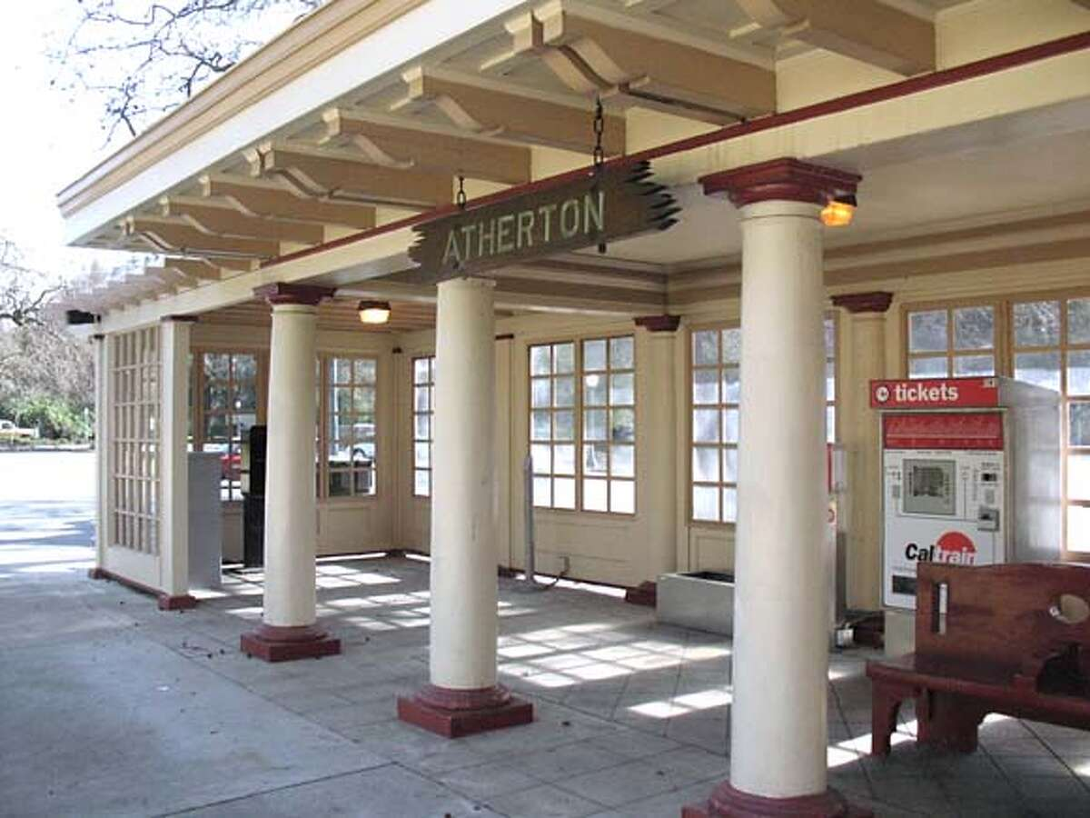 After a fire shut it down last year, Caltrain has repaired and reopened the Atherton train station. Chronicle watch offers readers