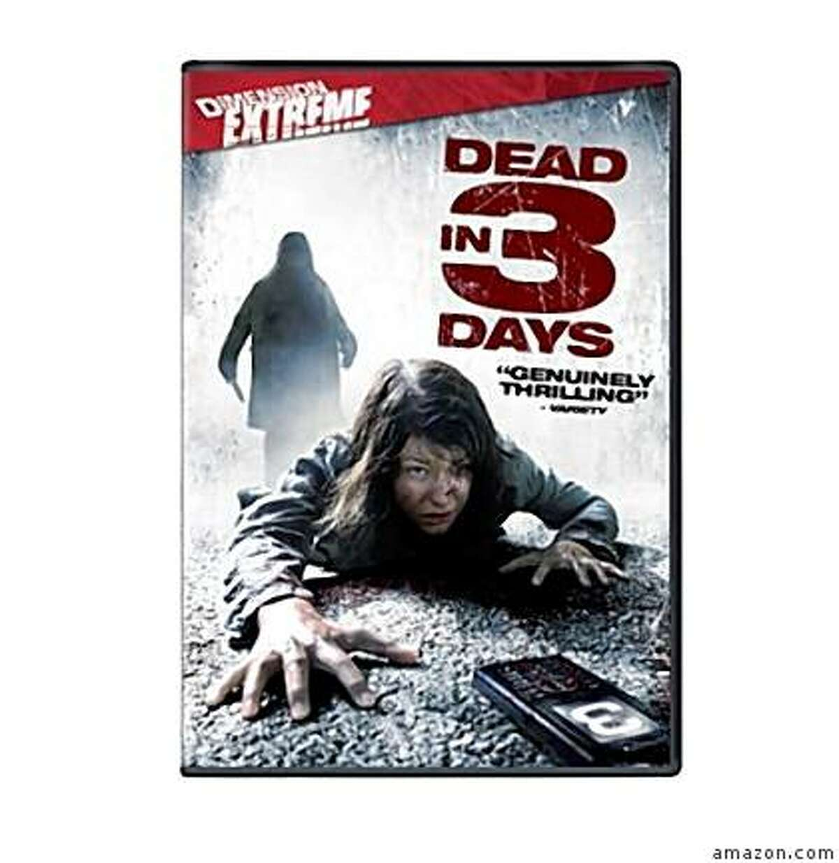 dvd cover DEAD IN 3 DAYS