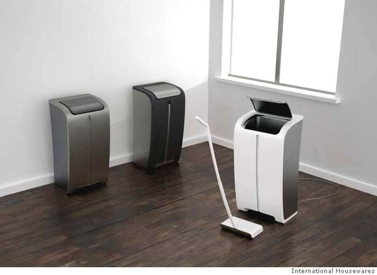 Faris elmasu, 23, a student at San Jose State Unviersity designed Bin, a trash bin with a removable rechargeable vacuum cleaner. The Bin is AC powered and is used as a dock for the rechargeable vacuum. It won a 3rd place award in the 2008 IHA Student Design Competition organized in Chicago.
