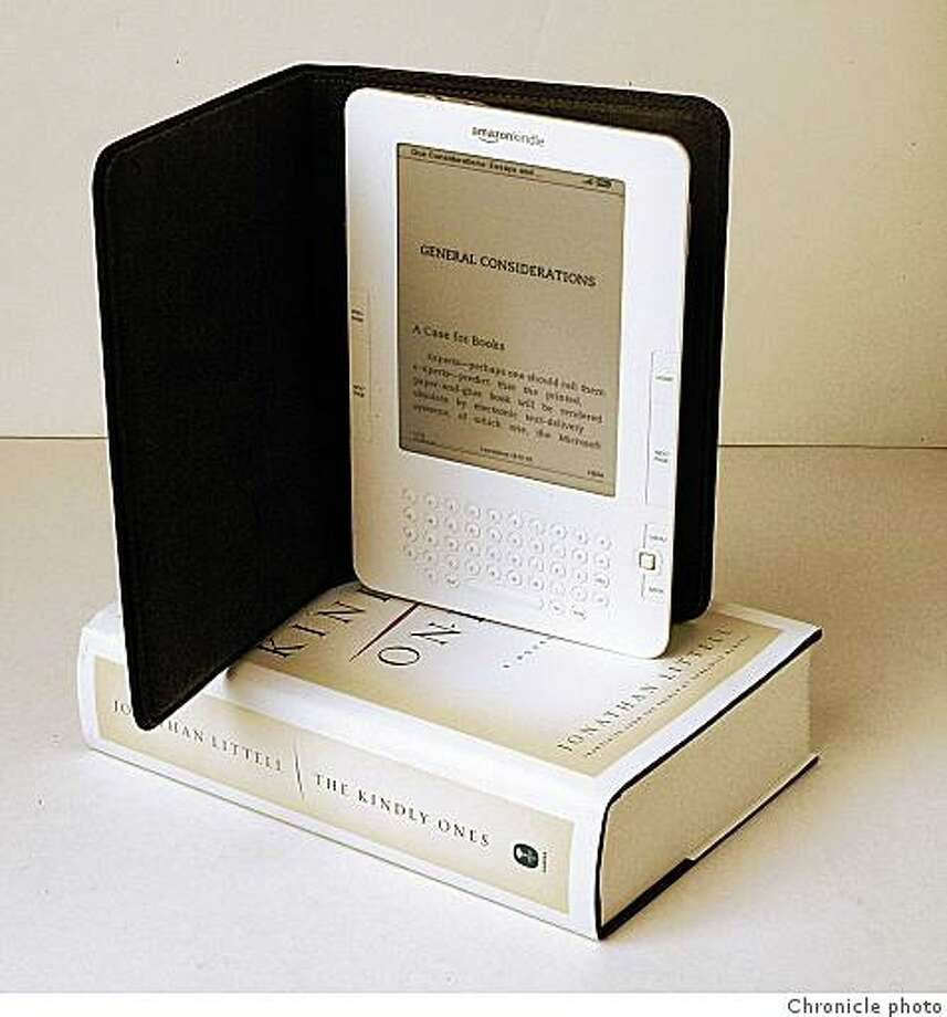 Amazon Kindle electronic book Photo: Chronicle Photo