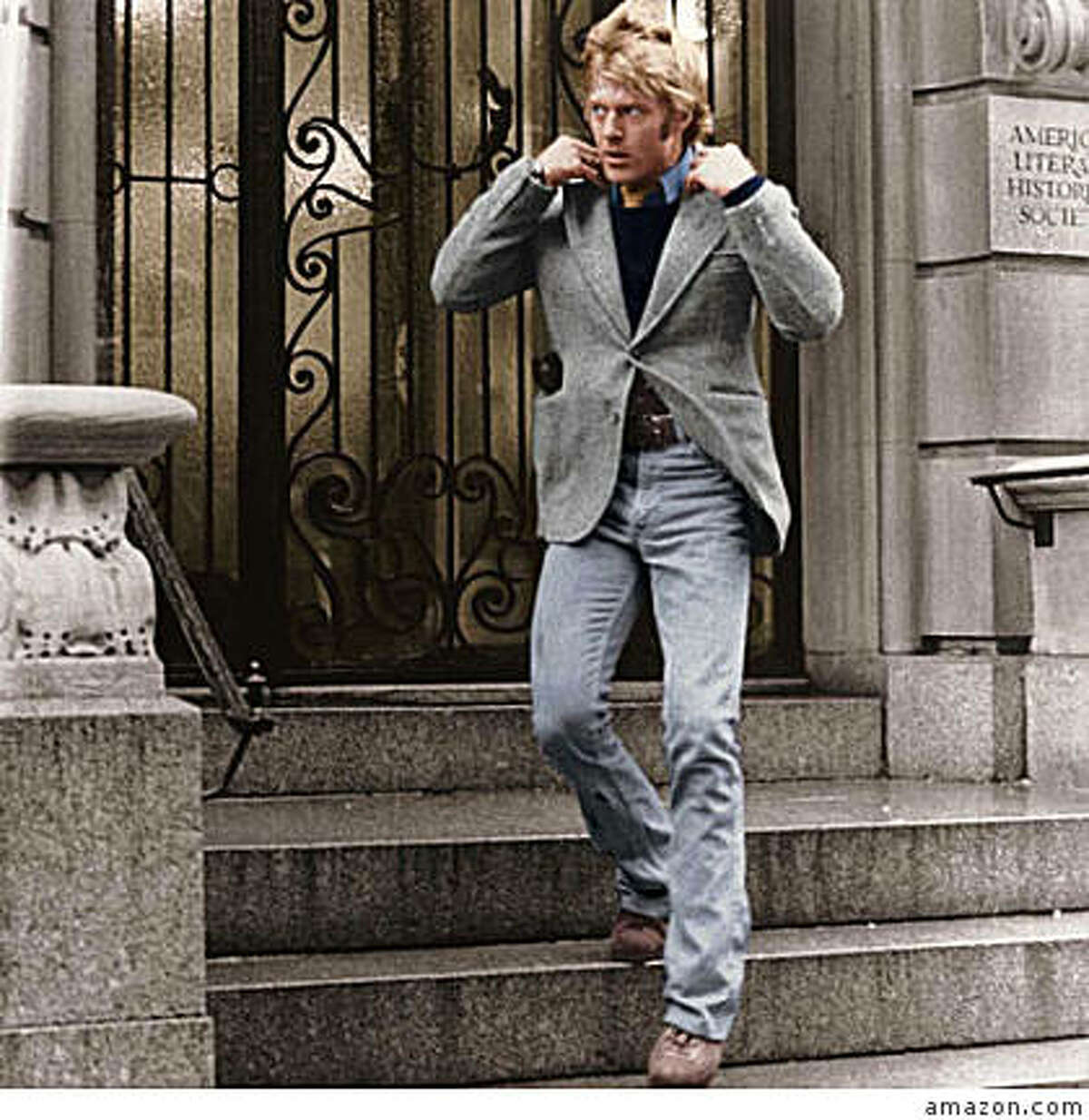 Robert Redford in 3 DAYS OF THE CONDOR