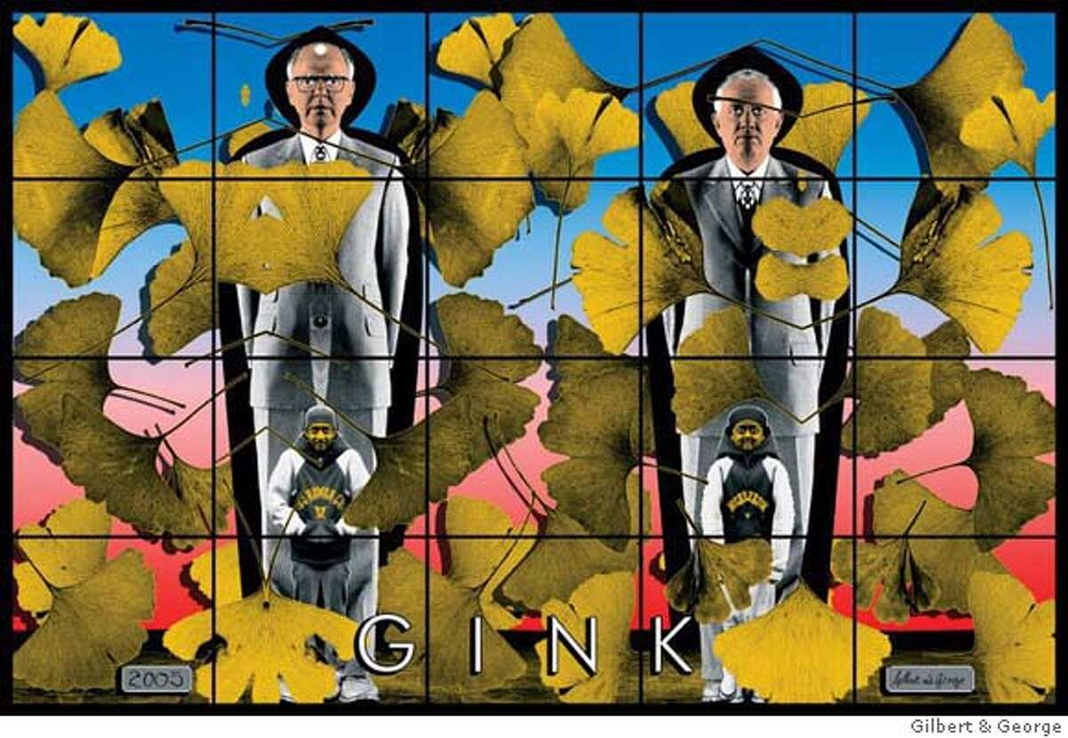 Gilbert & George, Gink, 2005. Collection Maja Hoffmann. � Gilbert & George
