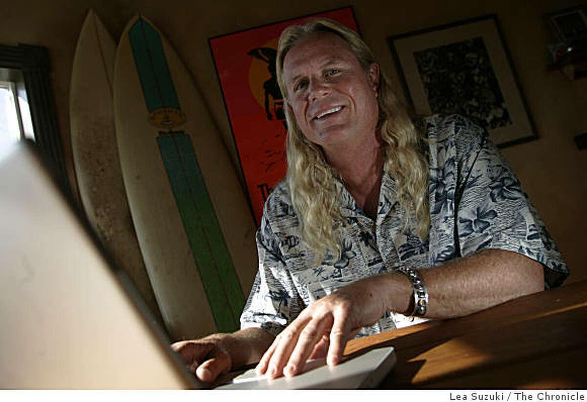 Mark Massara, founder of the Association of Surfing Attorneys. Photo taken on 062707 in San Francisco, CA.