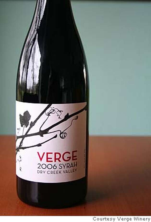 The premier release from Verge Winery. Photo: Courtesy Verge Winery