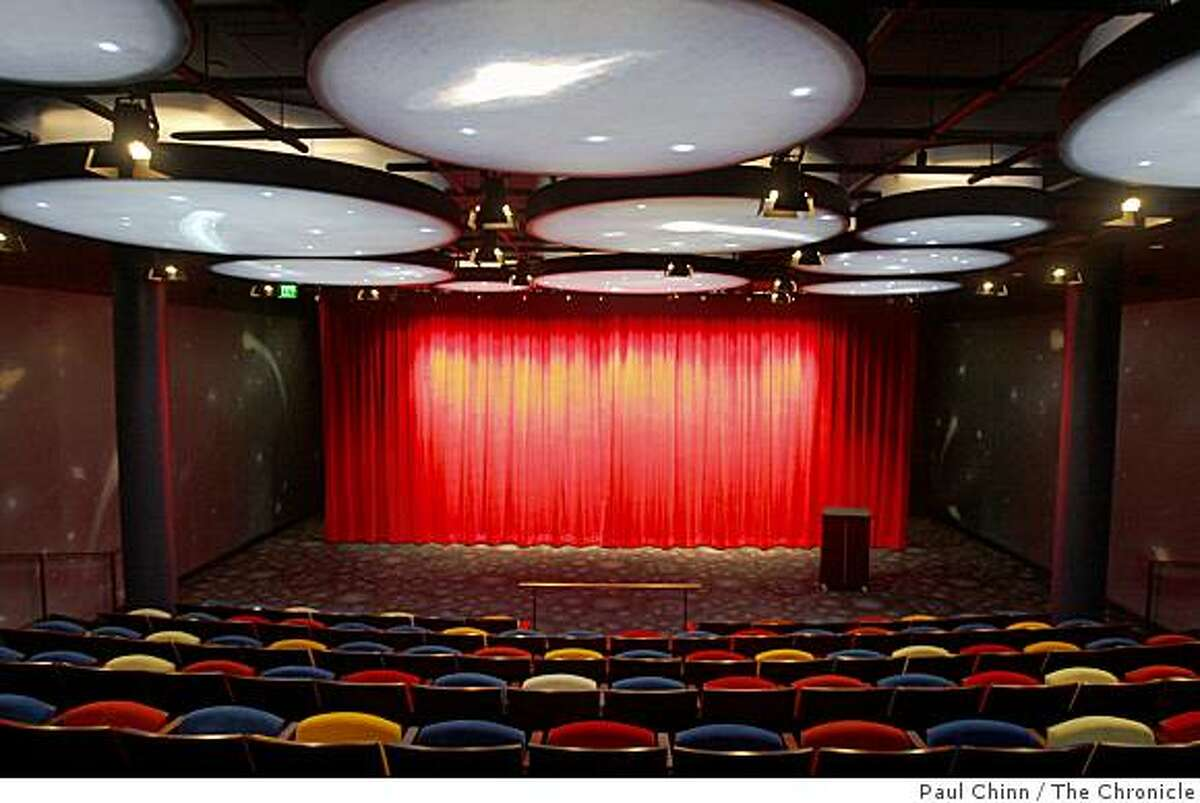 The 123-seat theater is seen at the Walt Disney Family Museum in San Francisco, Calif., on Thursday, June 25, 2009. The museum, which chronicles the life and career of the famed-animator, is scheduled to open at the Presidio in October.
