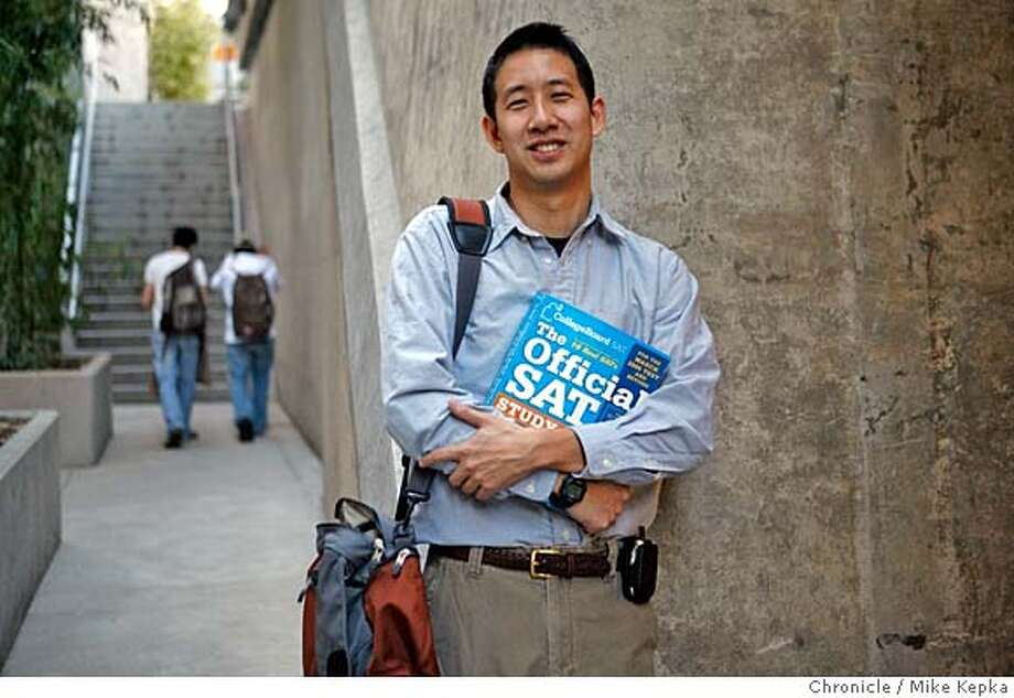 Jefferson Award winner, Van Tsai is a high school teacher who runs SAT and ACT tutorial sessions in Berkeley for low income students. Mike Kepka / The Chronicle MANDATORY CREDIT FOR PHOTOG AND SAN FRANCISCO CHRONICLE/NO SALES-MAGS OUT Photo: Mike Kepka