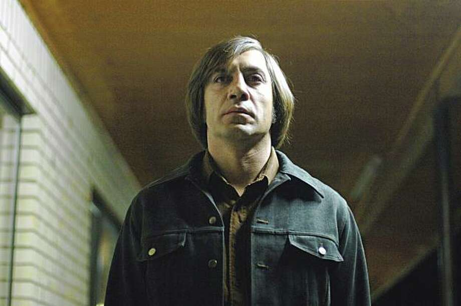 "Javier Bardem in ""No Country for Old Men."" Photo: Miramax 2007"