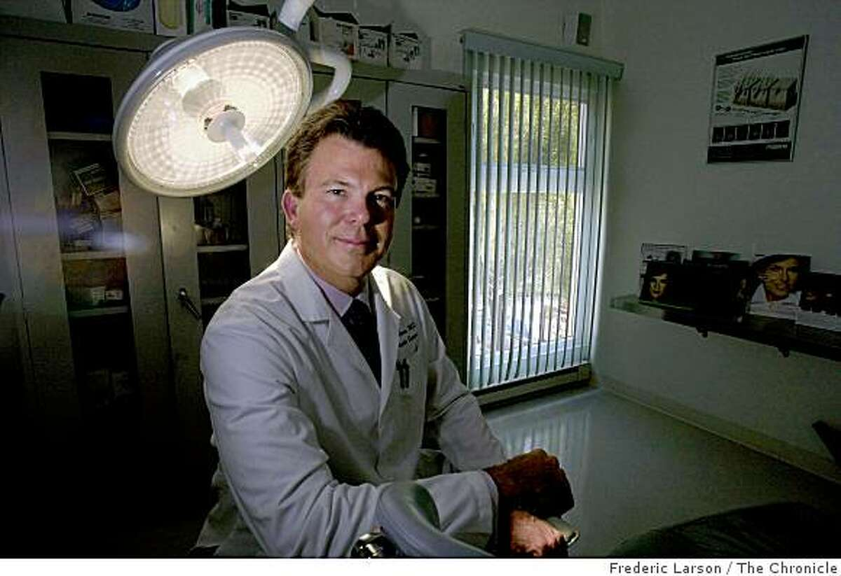 Dr. Corey Maas conducted clinical trials of the new wrinkle-reducer, Dysport, which is a competitor to the very popular