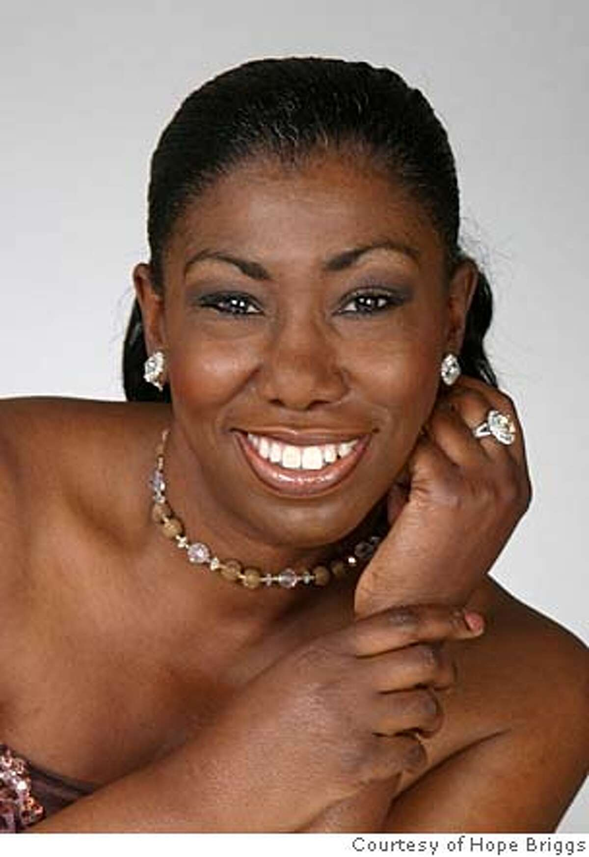 Singer Hope Briggs
