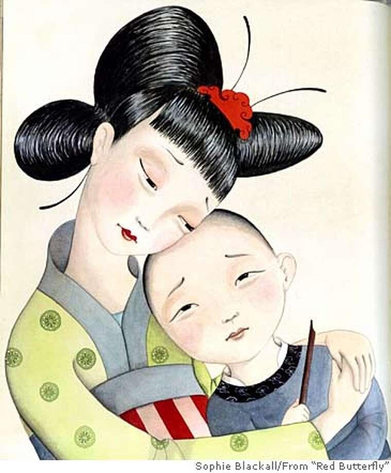 "Illustration by Sophie Blackall from Deborah Noyes' book ""Red Butterfly"" Photo: Sophie Blackall"