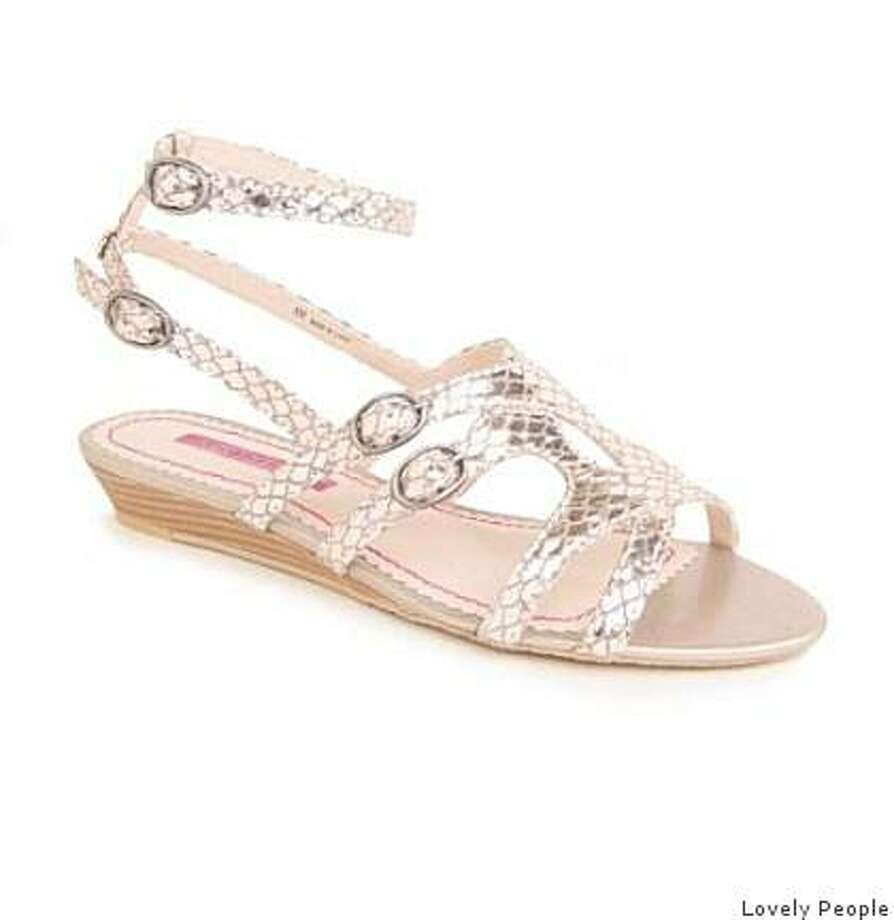The Gilda sandal by Lovely People is $85. Photo: Lovely People