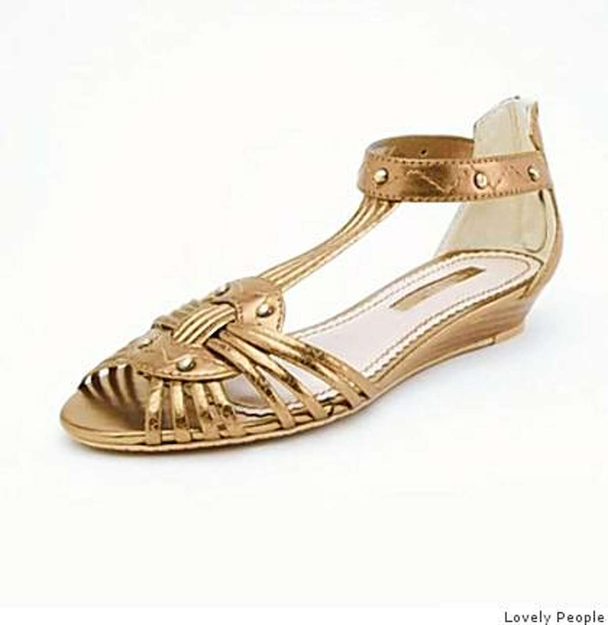 The Paula sandal by Lovely People is $85.