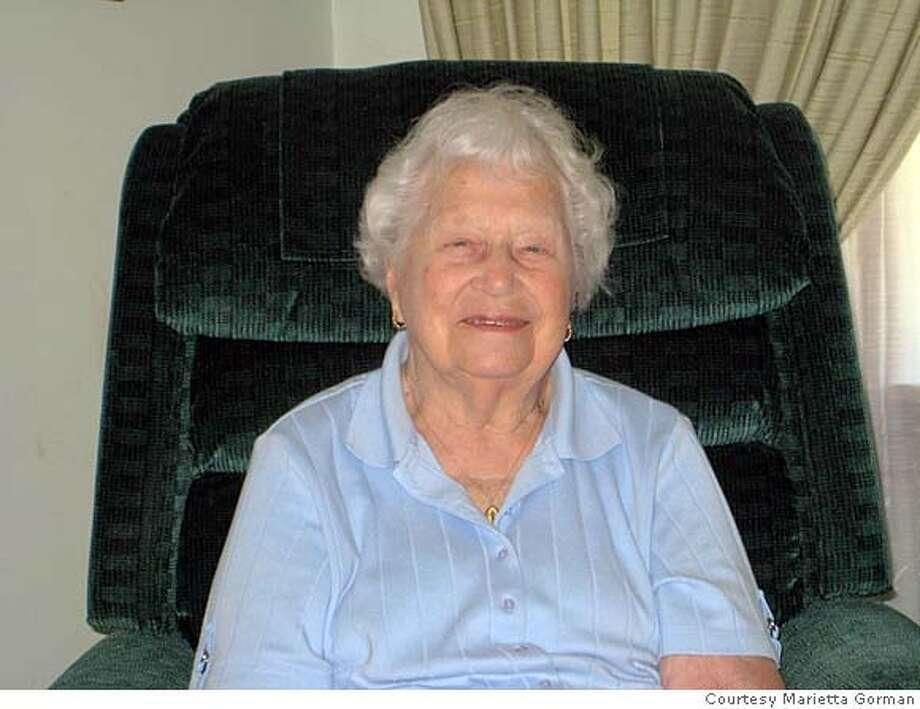 Marie Walsky turns 100 Feb. 15. Photo: Marietta Gorman