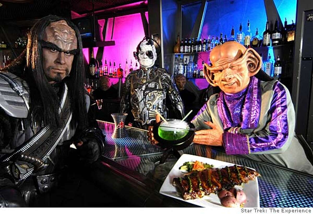 TRAVEL DESTINATIONS LAS VEGAS -- At Quark's, an eatery that is part of Star Trek: The Experience at the Las Vegas Hilton, characters from