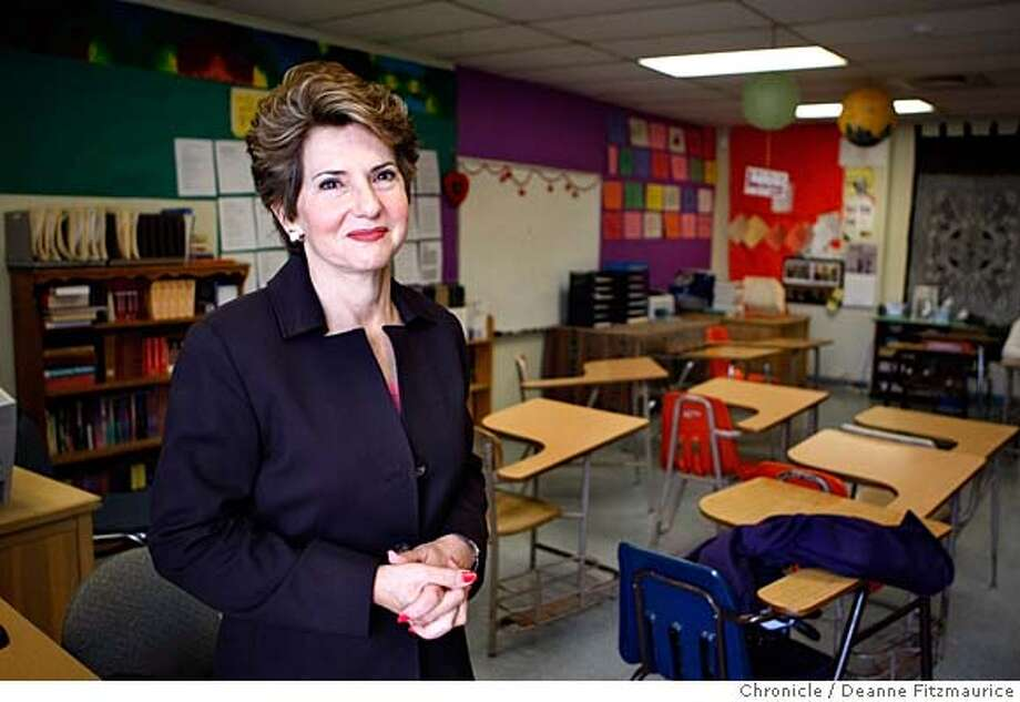 {kezar_067_df.jpg}  Judge Ina Levin Gyemant started a program called Youth Treatment And Education Center. Photographed in San Francisco on 2/6/08. Deanne Fitzmaurice / The Chronicle Mandatory credit for photographer and San Francisco Chronicle. No Sales/Magazines out. Photo: Deanne Fitzmaurice